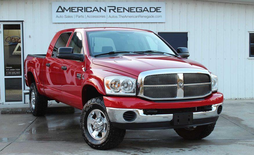 2007 Dodge Ram 2500 Mega Cab Cummins – American Renegade