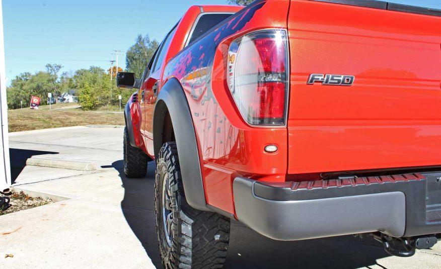 2011 Ford F150 SVT Raptor 6.2L